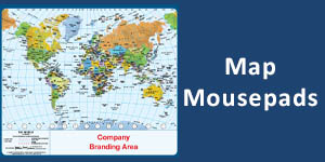 Map Mousepads