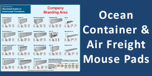 Ocean Container Mouse Pads